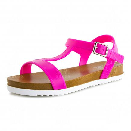 Newest price changes for leather flat sandals