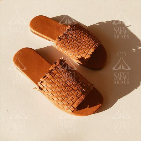 Price range for woven flat leather sandals 2020