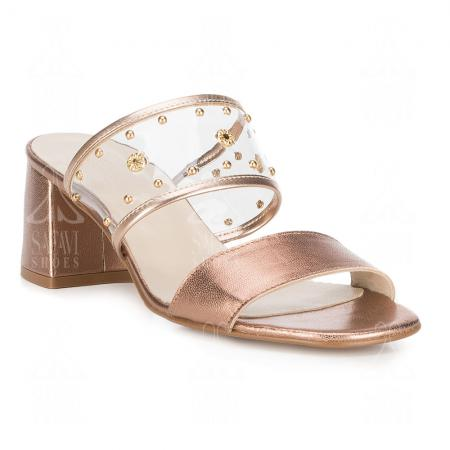 Wholesale distributors of women's sandal gold shoes in Asia